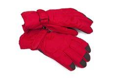 Warme handschoenen Stock Afbeelding