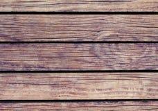 Warme Houten Achtergrond Natuurlijke houten textuur met horizontale lijnen Royalty-vrije Stock Foto's