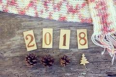 Warme Kerstmis 2018 Stock Afbeeldingen