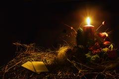 Warme Kerstmiswafeltjes stock foto's