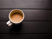 Warme kop van koffie Royalty-vrije Stock Foto's