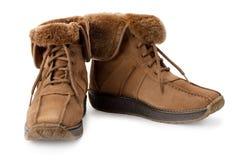 Warme laarzen Stock Foto's