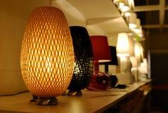 Warme Lampe Stockfoto