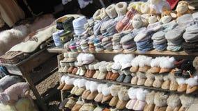 Warme orientalische Schuhe Lizenzfreie Stockbilder