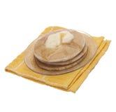 Warme Pfannkuchen zum Frühstück Lizenzfreies Stockfoto