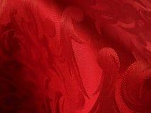warme rode stof Royalty-vrije Stock Foto's