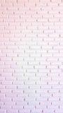Warme rote und weiße Backsteinmauer für Beschaffenheit oder Hintergrund Lizenzfreie Stockbilder