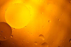 Warme runde Orangen-Töne abstrakter Hortizontal-Entwurfs-Hintergrund B Stockbilder