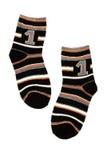 Warme Socke Stockfoto