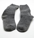 Warme Socken Stockfoto