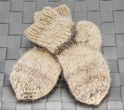 Warme sokken Stock Afbeeldingen