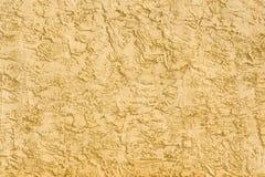 Warme Tone Stucco Wall Background Lizenzfreie Stockfotos