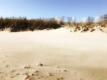 Warme zuckerhaltige Sanddünen Stockfoto