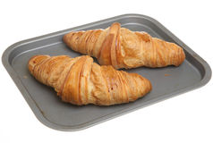 Warmed Croissants Royalty Free Stock Photo