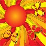 Warmer Basisrecheneinheits-Hintergrund Stockbild