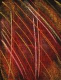 Warmer Farbenpastell auf dem Papierhintergrund selbst gemacht Stockfoto