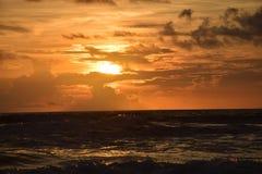 Warmer Florida-Sonnenaufgang Stockfoto
