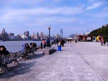 Warmer Flussufer Lizenzfreie Stockfotos