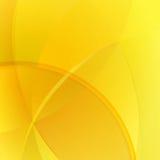 Warmer gelber Hintergrund Lizenzfreie Stockbilder