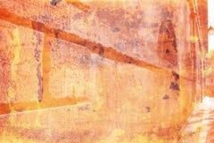 Warmer grunge Wandhintergrund Stockfoto