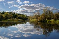 Warmer Herbst Stockfoto