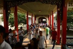 Warmer Pavillon-Westpräsident Büro-China Nanjing Lizenzfreie Stockbilder