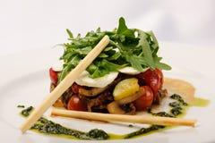 Warmer Salat Stockbild