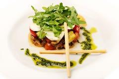 Warmer Salat lizenzfreies stockfoto