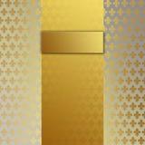 Warmes Gold des Damastes 3/Champagne-Größe 70 Lizenzfreie Stockfotos