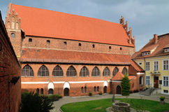 The Warmia Chapter Castle (Olsztyn, Poland) Stock Photos