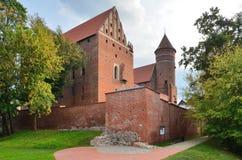 The Warmia Chapter Castle (Olsztyn, Poland) Stock Photography