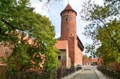 The Warmia Chapter Castle (Olsztyn, Poland) Royalty Free Stock Image