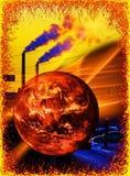 Warming royalty free stock image