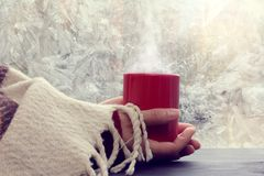 Warming cozy home atmosphere Royalty Free Stock Images