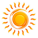 Warming sun Stock Photography