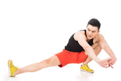 Warming-up exercises Stock Photography