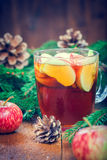Warming winter drink Stock Photos