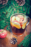 Warming winter drink Stock Images