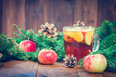 Warming winter drink Royalty Free Stock Images