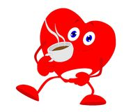 Warming your heart with Tea and or Coffee.. Royalty Free Stock Photography