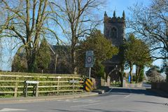 Warmingham Church. Warmingham village church in east Cheshire Stock Photos