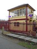 Warmley Vintage Railway Signal Box Building Stock Image