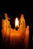 Warmte van vlam stock foto's