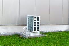 Warmtepomp stock fotografie