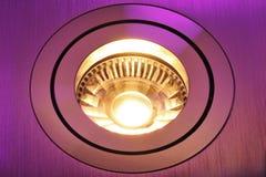 Warmwhite COB-LED stock photo