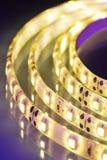 Warmwhite LED-stripe Stock Photos