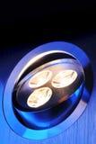 Warmwhite triple-LED Stock Photography