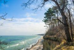 Warnemünde beach, Mecklenburg-Vorpommern Stock Images
