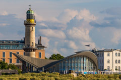Warnemuende skyline Stock Image