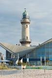 Warnemunde-Leuchtturm Stockfotografie